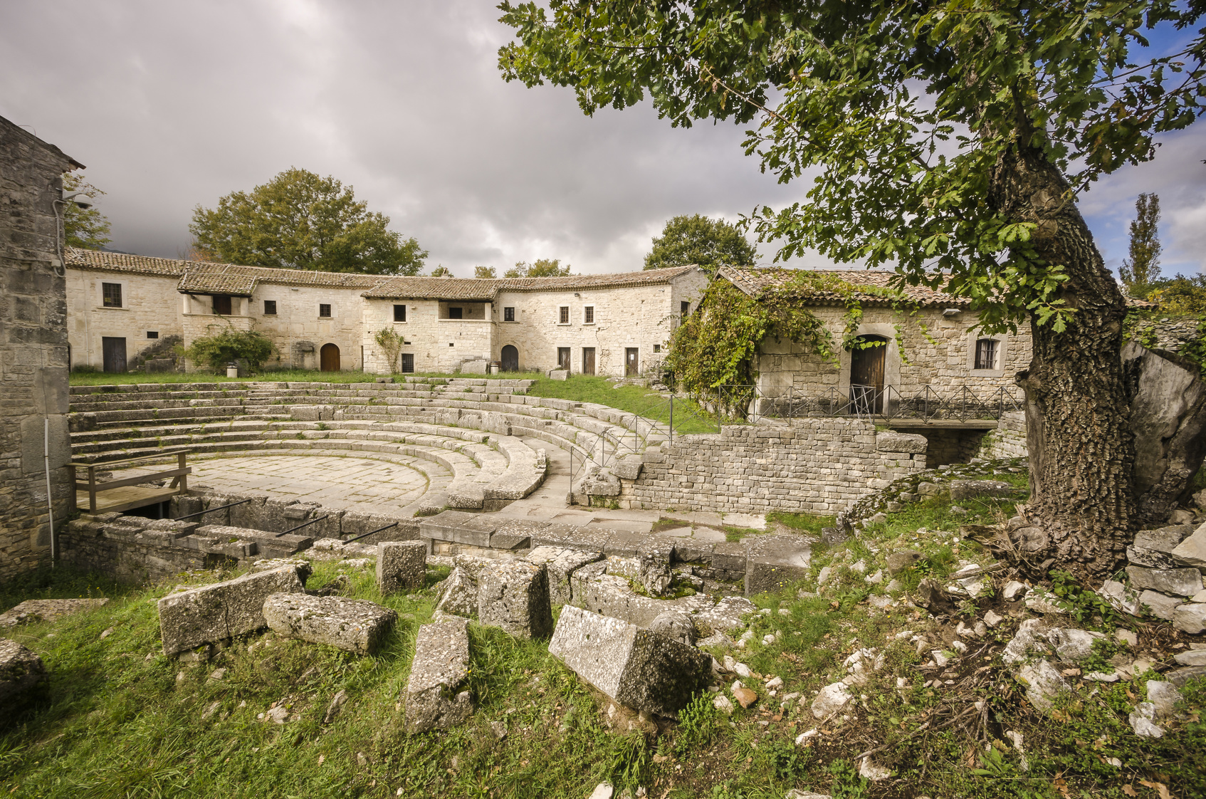 area archeologica altilia